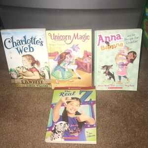 Young readers bundle of 4 books